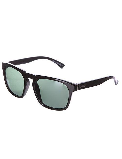 Von Zipper | Мужские Чёрные Очки Banner Black Gloss/Vintage Grey