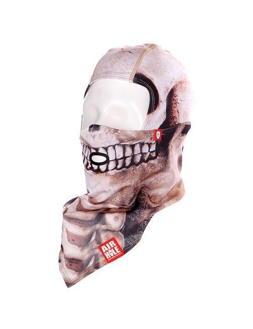 Airhole | Мужская Бежевая Балаклава B1 Skull