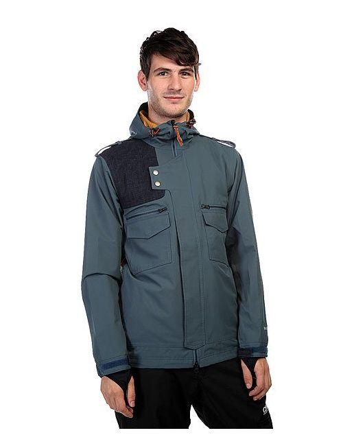 Holden | Мужская Синяя Куртка Утепленная Moto Jacket Orion Blue