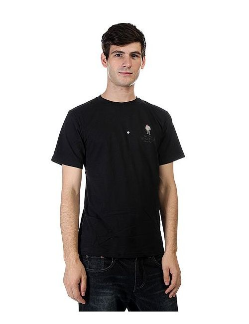 Dcshoes   Мужская Чёрная Футболка Dc Ben Davis 1 Black
