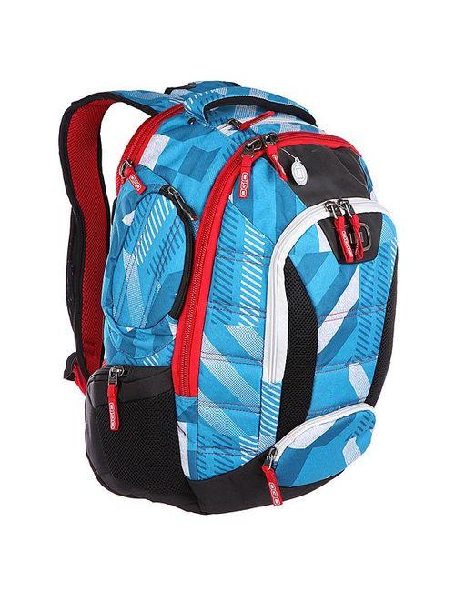 Ogio | Мужской Красный Рюкзак Школьный Bandit Pack Blue/Red