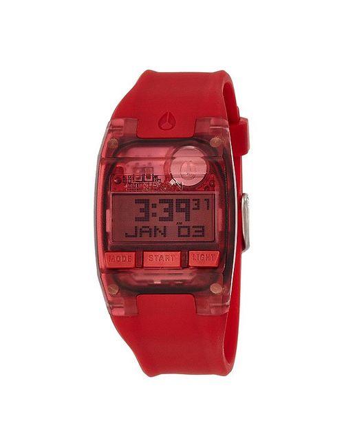 Nixon | Мужские Красные Часы Comp S All Red