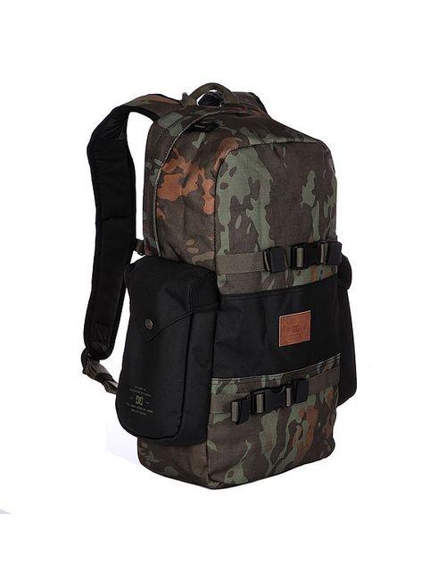 Dcshoes | Мужской Чёрный Рюкзак Спортивный Dc Crafter M Camo Lodge