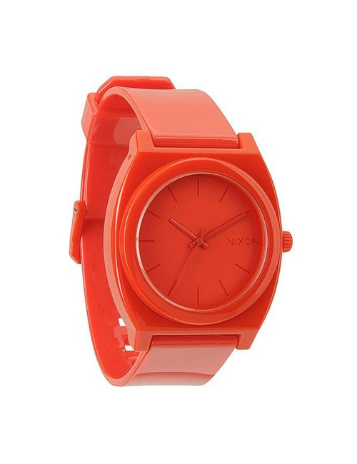 Nixon | Мужские Часы The Time Teller P Red All