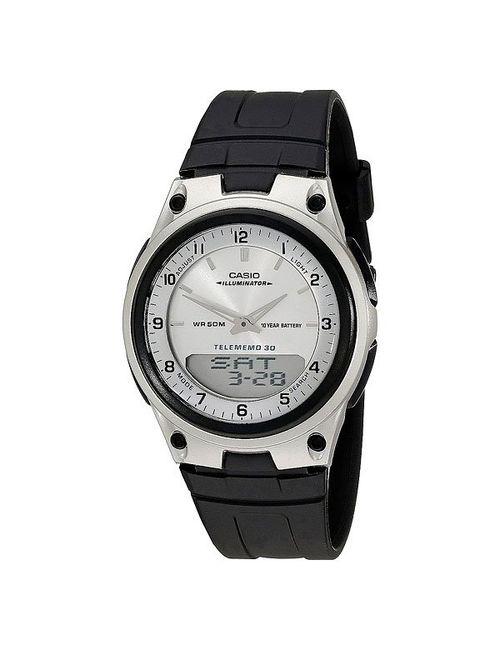 Casio | Мужские Чёрные Часы Collection Aw-80-7a Black/Grey