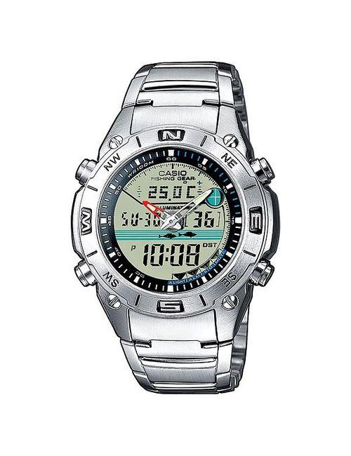 Casio | Мужские Серые Часы Collection Amw-702d-7a Grey