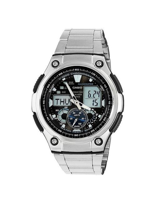 Casio | Мужские Серые Часы Collection Aq-190wd-1a Grey
