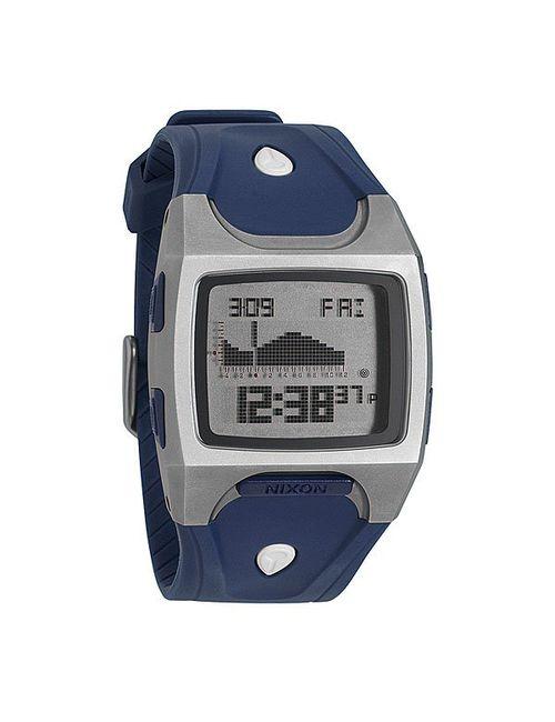 Nixon | Мужские Часы Lodown Ti Navy