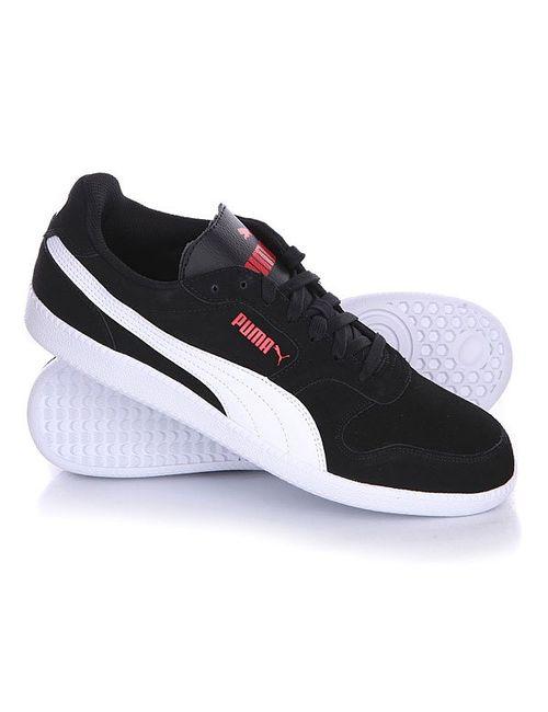 Puma | Мужские Чёрные Кеды Кроссовки Низкие Icra Trainer Sd Black/White
