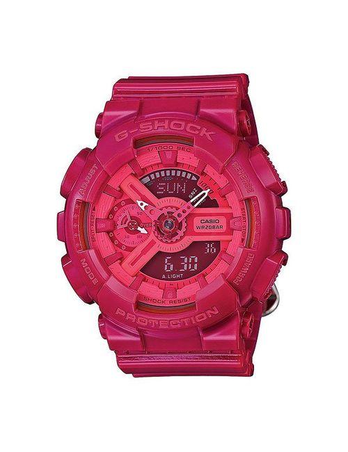 Casio G-Shock | Женские Розовые Часы Женские Gma-S110cc-4a Pink