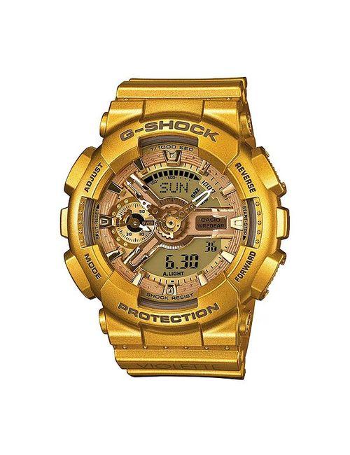 Casio G-Shock | Женские Жёлтые Часы Женские Gma-S110vk-9a Gold