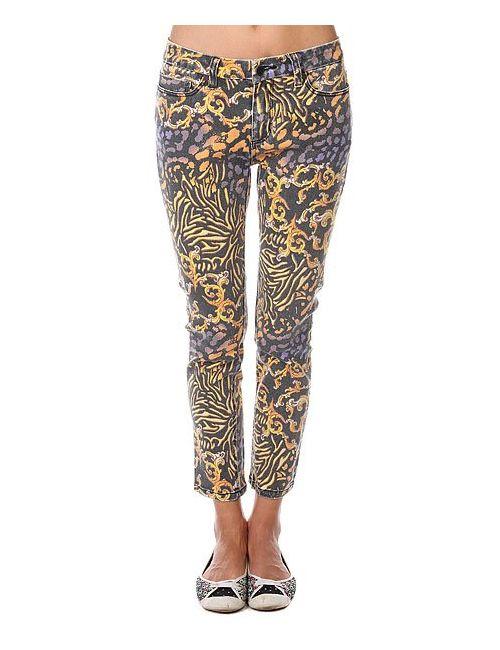 Insight | Женские Многоцветные Джинсы Прямые Женские Royal Serpentine Pant Black