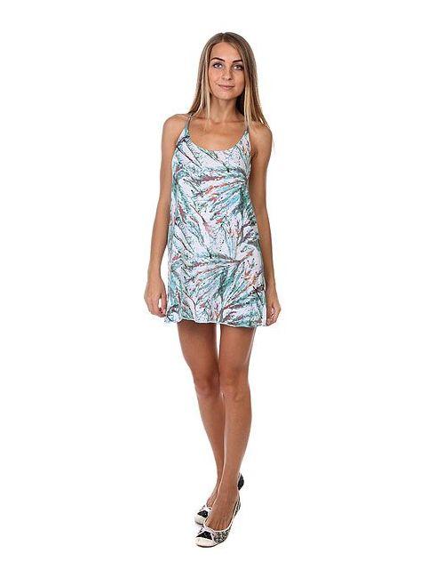 Insight | Женское Голубое Платье Женское Forest White