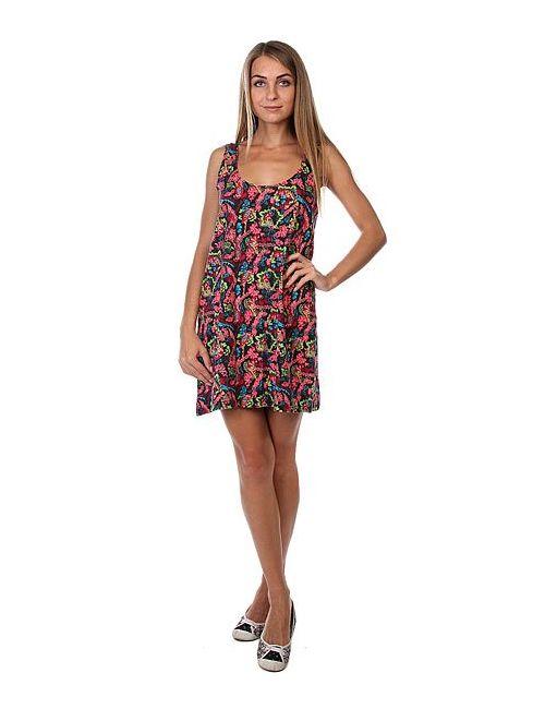 Insight | Женское Многоцветное Платье Женское Flower Black