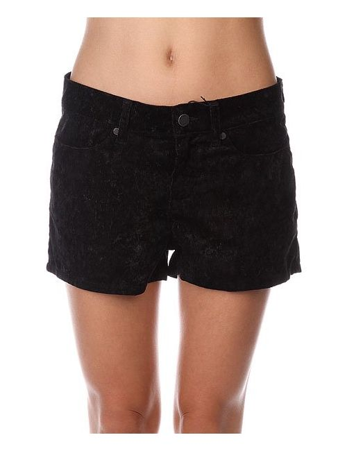 Insight | Женские Чёрные Шорты Классические Женские Floral Velvet Shorts Black