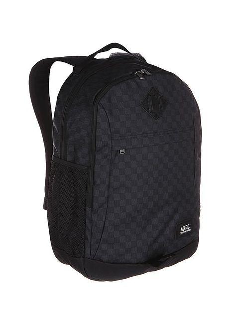 Vans | Мужской Чёрный Рюкзак Городской Skooled Backpack Black/Charcoal