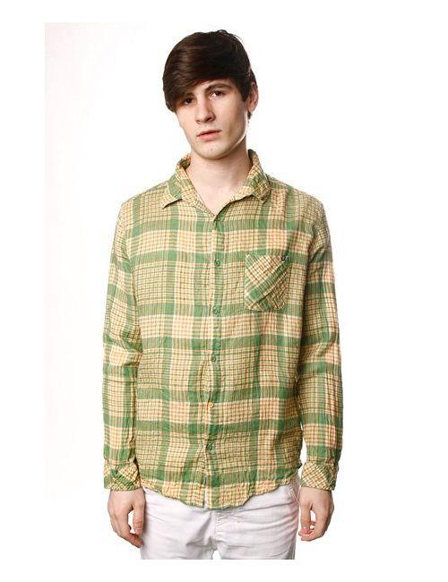 Insight | Мужская Зелёная Рубашка Overkill Shirt Psyche Green