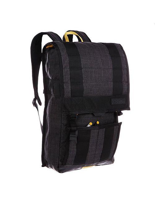 Ogio | Мужской Чёрный Рюкзак Городской Commuter Pack Black/Curry