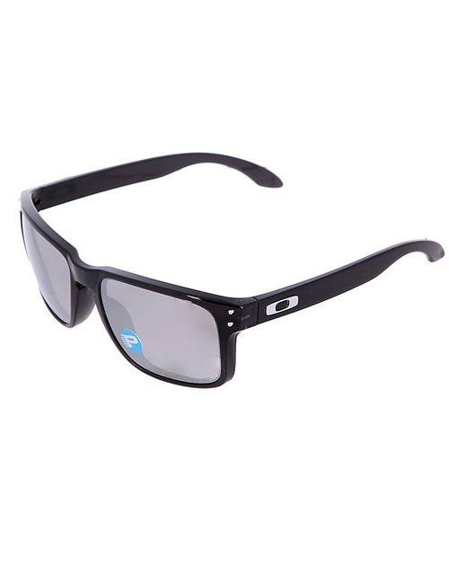 Oakley | Мужские Чёрные Очки Holbrook Black Ink/Chrome Iridium Polarized