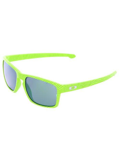 Oakley   Мужские Зелёные Очки Sliver Retina Burn/Jade Iridium