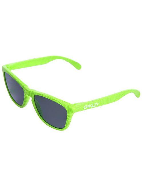Oakley | Мужские Зелёные Очки Frogskin Retina Burn/Jade Iridium