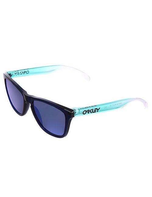 Oakley | Мужские Голубы Очки Frogskin Blue/Sapphire Iridium