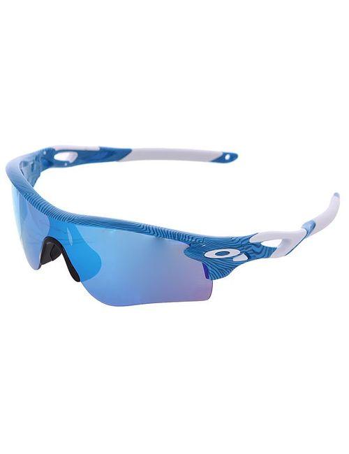 Oakley | Мужские Голубы Очки Radarlock Sky Blue/Sapphire Iridium