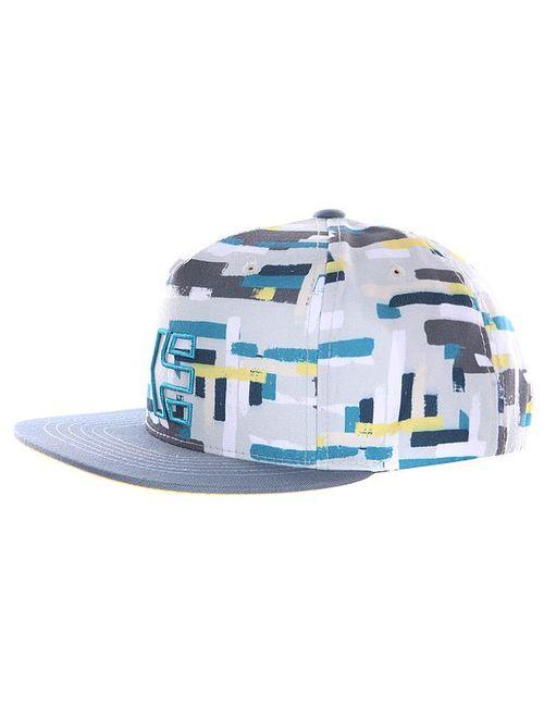 Etnies | Мужская Многоцветная Бейсболка Rook Snapback Hat White/Light Grey
