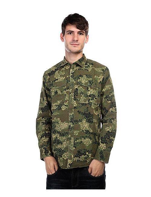 Dcshoes | Мужская Зелёная Рубашка Dc Mastoid Acu Scale 1.1 Camo