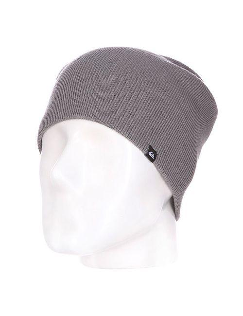Quiksilver | Мужская Серая Шапка Носок Jewell Slouch Steeple Gray