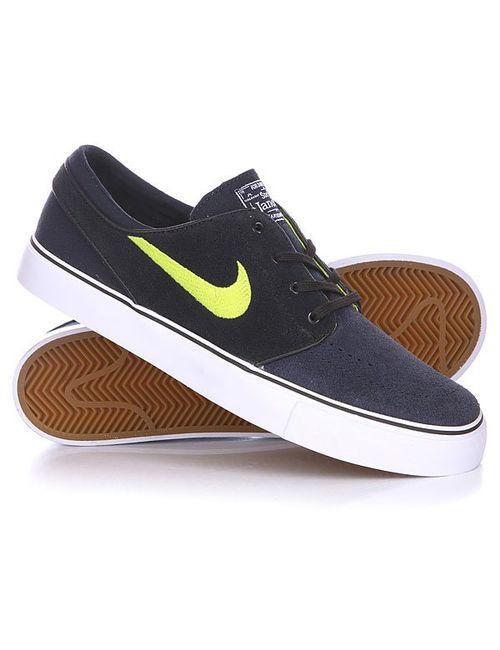 Nike | Мужские Синие Кеды Кроссовки Низкие Zoom Stefan Janoski Dark