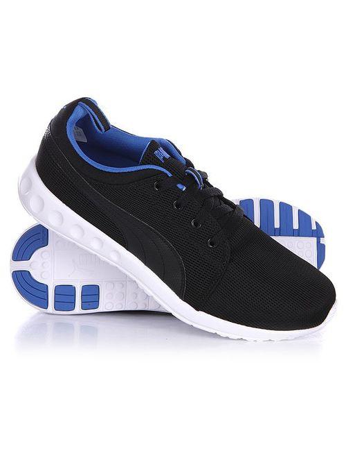 Puma | Мужские Чёрные Кроссовки Carson Runner Black/Strong Blue