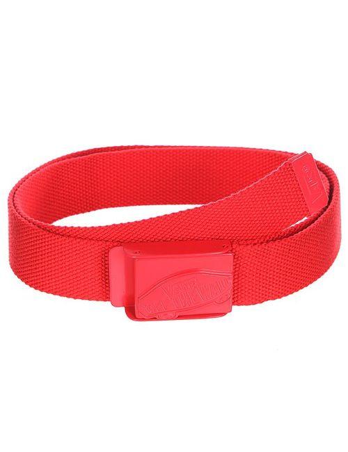 Vans | Мужской Красный Ремень Conductor Web Belt Reinvent Red