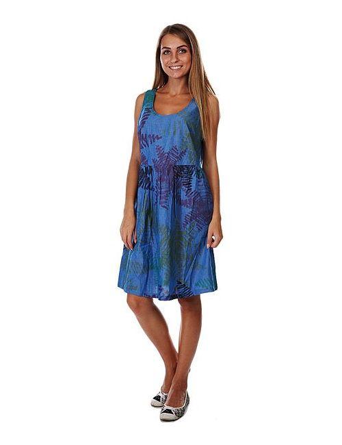 Loreak Mendian | Женское Синее Платье Женское Erretak Dress Blue