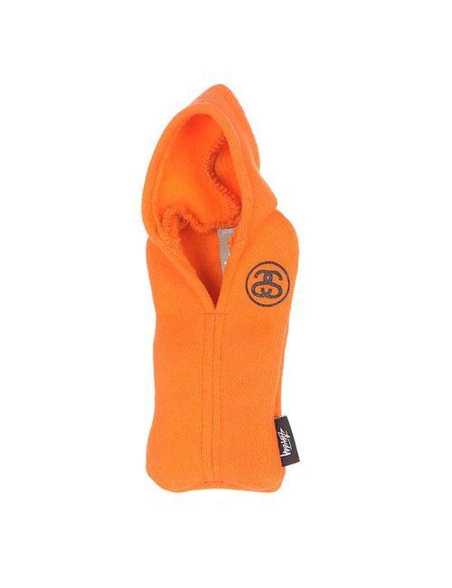 Stussy | Женский Оранжевый Чехол Для Iphone Hoodie Orange