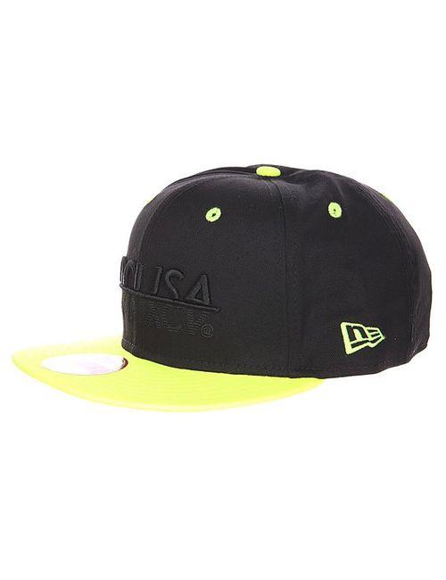 Dcshoes | Мужская Жёлтая Бейсболка New Era Dc Mcmxcv Black