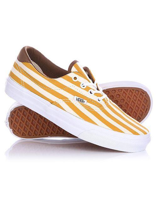 Vans | Мужские Жёлтые Кеды Кроссовки Низкие Stripes Golde Yellow