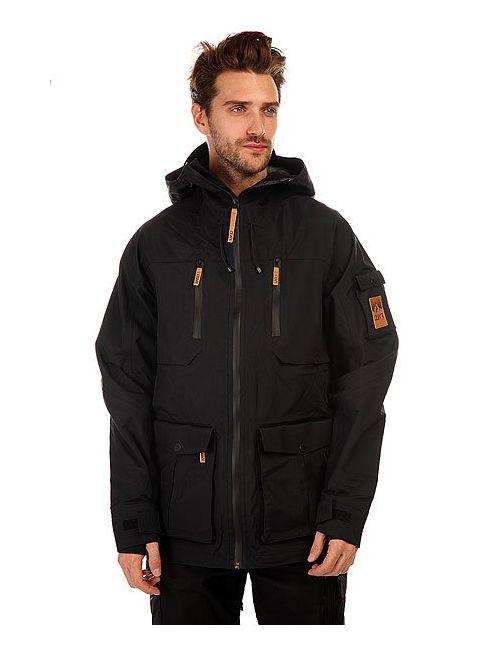 Clwr | Мужская Чёрная Куртка Парка Falk Jacket Black