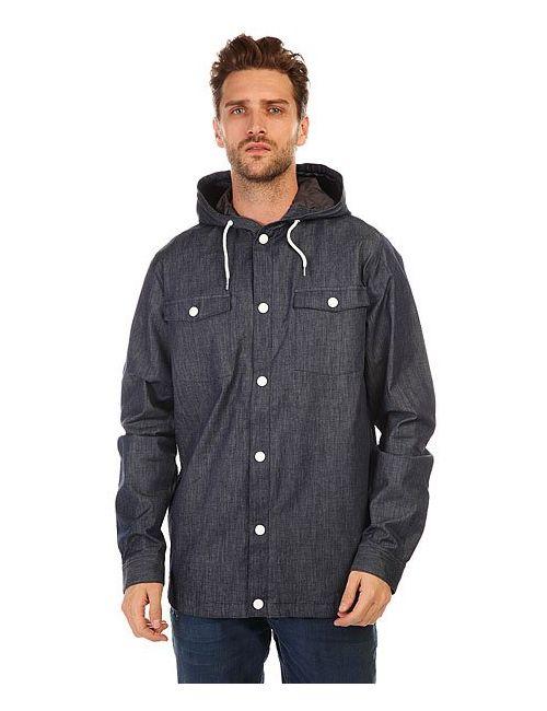 Clwr | Мужская Синяя Куртка Джинсовая Field Shirt Denim