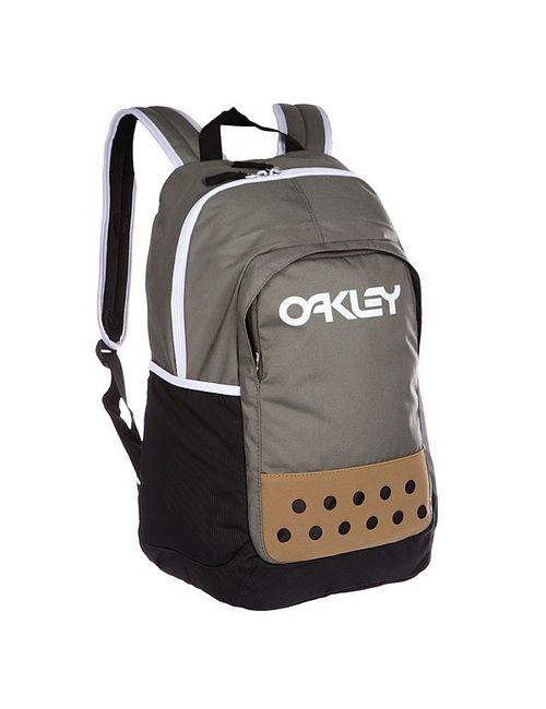 Oakley | Мужской Чёрный Рюкзак Туристический Factory Pilot Worn Olive