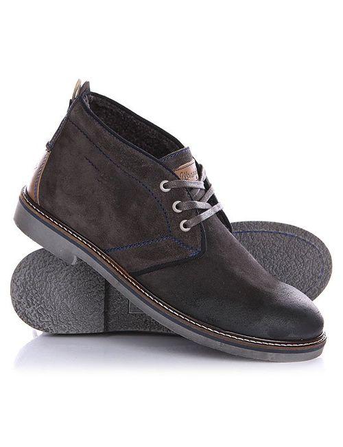 Wrangler | Мужские Серые Ботинки Зимние Hammer Desert Fur Dark Grey