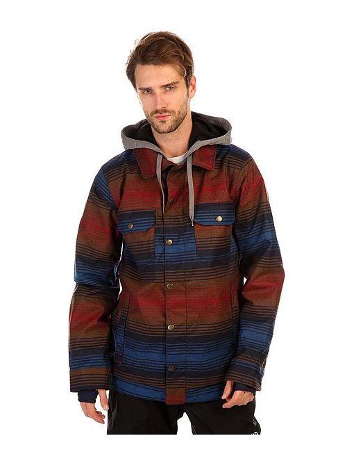 Burton | Мужская Многоцветная Куртка Mb Hackett Jk Cyanide Vgabndia Stp