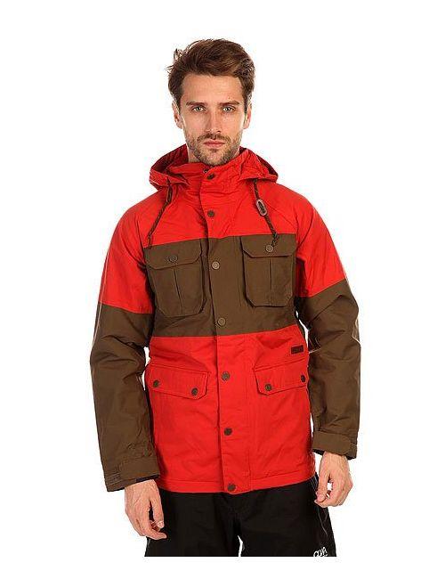 Burton | Мужская Красная Куртка Mb Frontier Jk Campfire/Woody