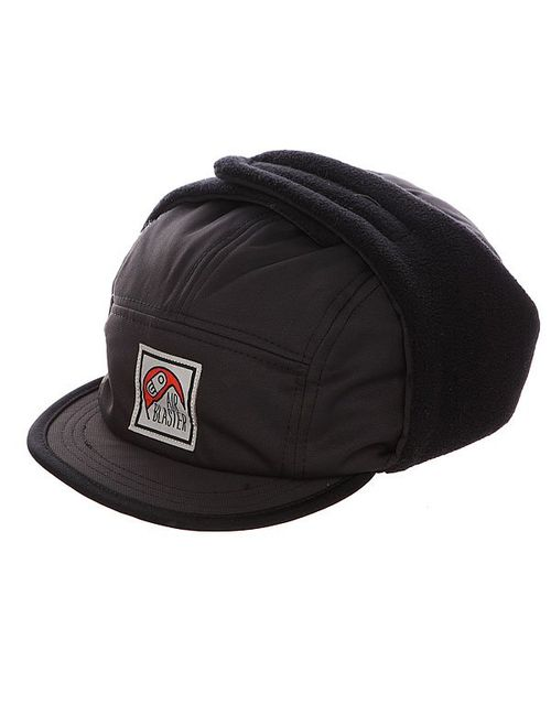 Airblaster   Мужская Черный Бейсболка Пятипанелька Airflap Cap Black