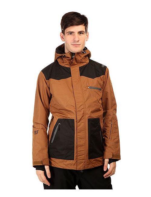 Romp   Мужская Чёрная Куртка 180 Switch Classic Jacket Brown Black