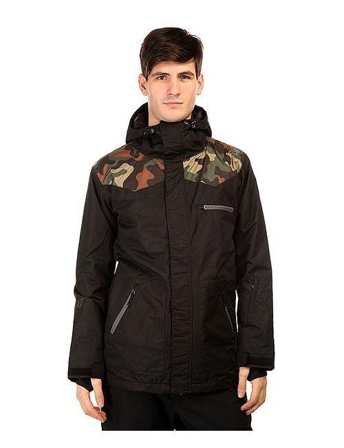 Romp | Мужская Черный Куртка 180 Switch Classic Jacket Black Camo