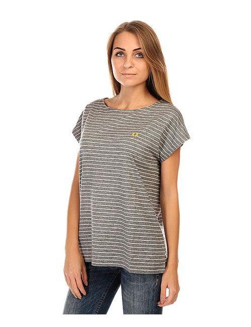 Fred Perry | Женская Серая Футболка Женская Yarn Dyed T Shirt Black