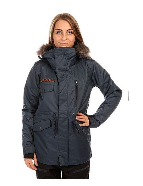 Romp | Женская Синяя Куртка Женская 5050 Grind Wannabe Jacket Navy