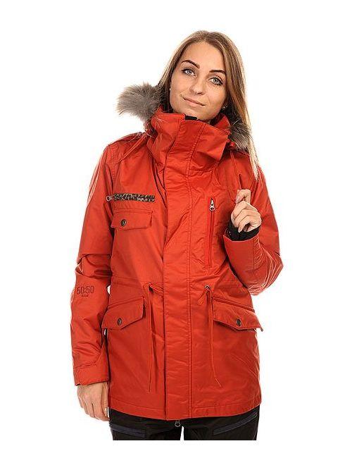 Romp | Женская Оранжевая Куртка Женская 5050 Grind Wannabe Jacket Dark