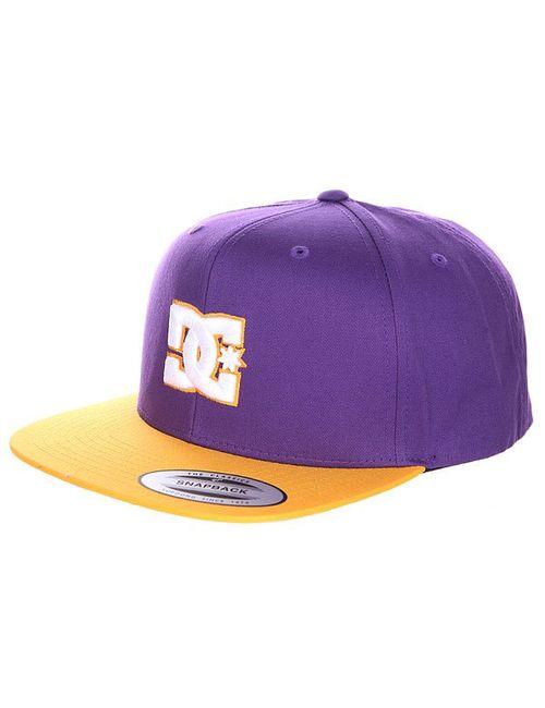 Dcshoes | Мужская Оранжевая Бейсболка С Прямым Козырьком Dc Snappy Purple